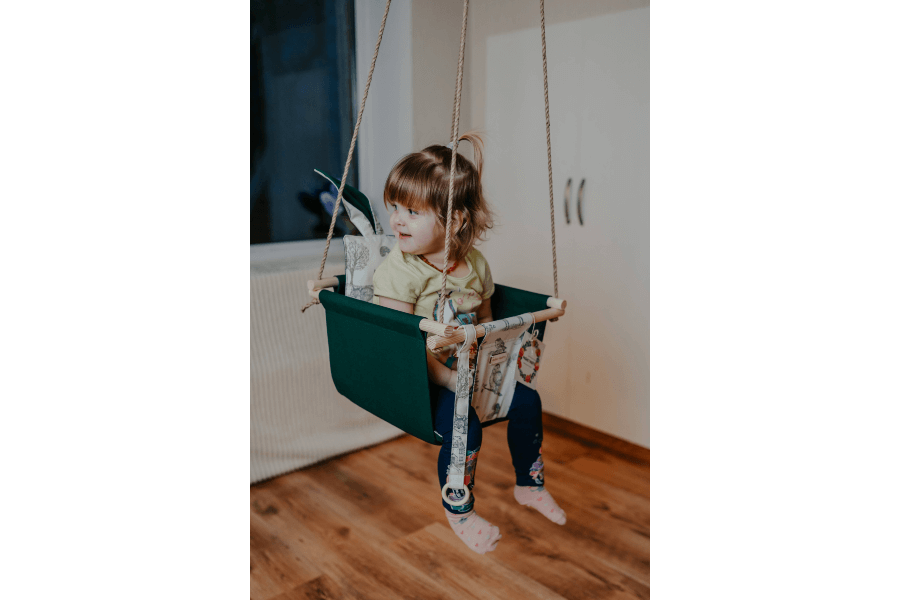 Šūpoles bērniem | Pašas taisīts