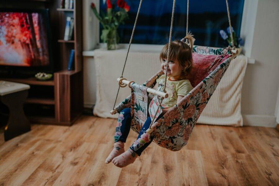 Šūpulis- šūpuļkrēsls bērniem