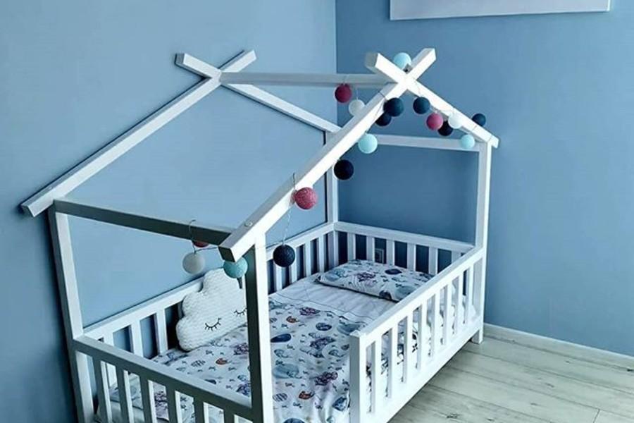 Bērnu gulta-mājiņa / AA WOODCRAFT