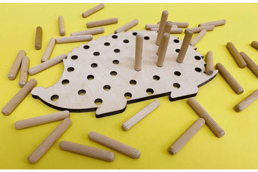 Ezītis-attīstoša rotaļlieta / BusyHome