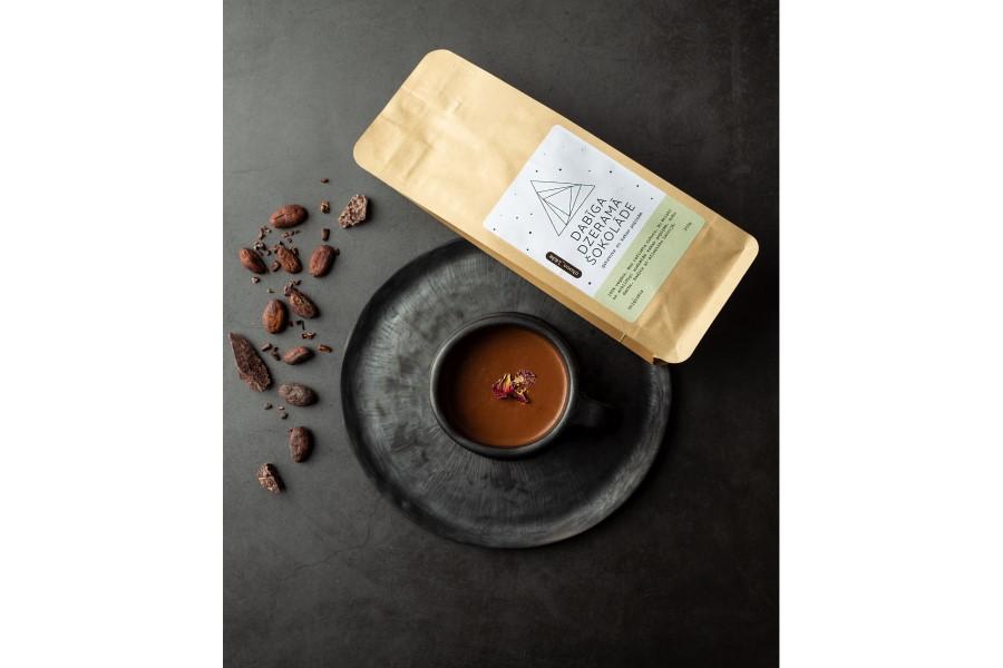 Šokolāde karstā dzēriena pagatavošanai - klasiskā, no kakao pupiņas līdz šokolādei, roku darbs, piemērots vegāniem