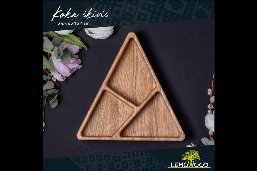 Koka šķīvis | LemoWood SIA