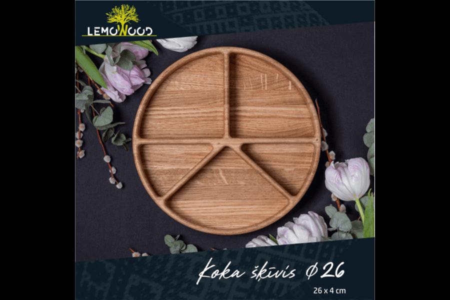 Ozolkoka šķīvis | LemoWood SIA