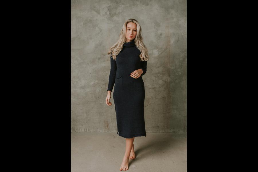 Silta maigas merino vilnas kleita | Renate Rose
