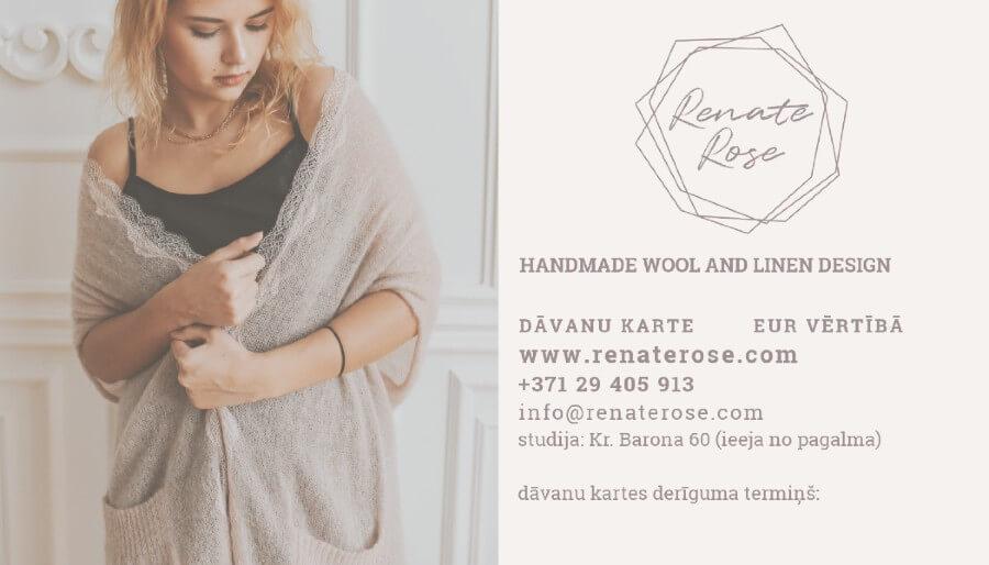 Dāvanu karte | Renate Rose