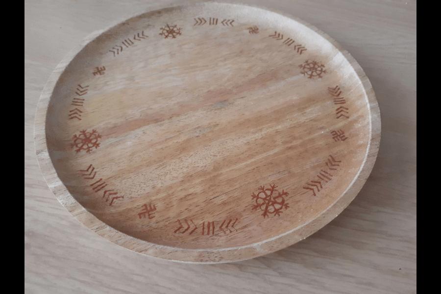 Apgleznots šķīvis | Linda