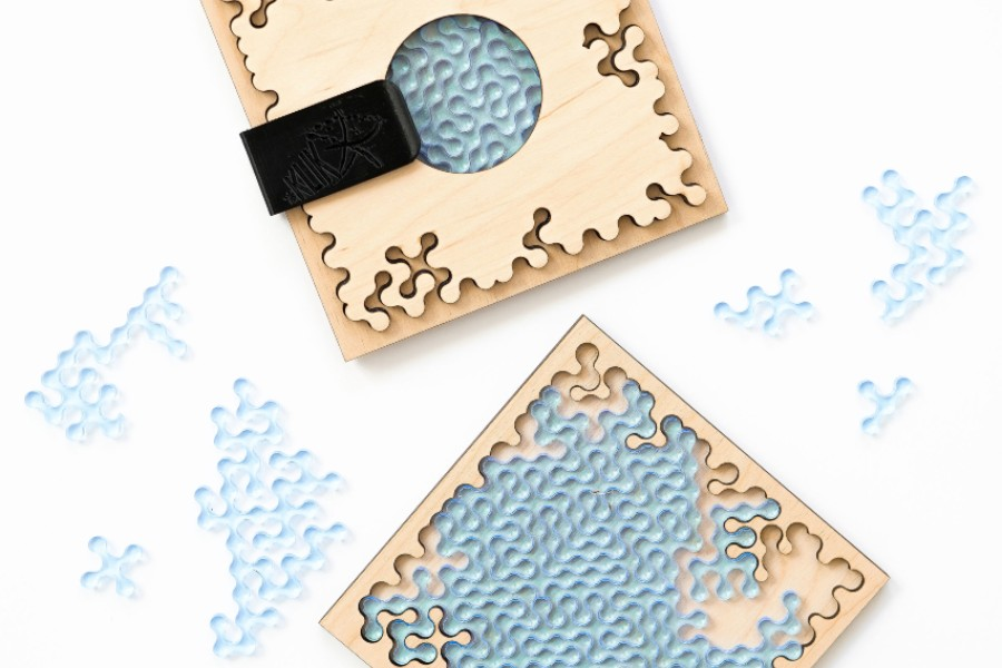 Mini Klik, kabatas puzle.