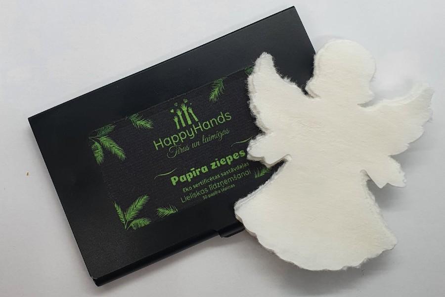 Papīra ziepes-eņģelis / HappyHands