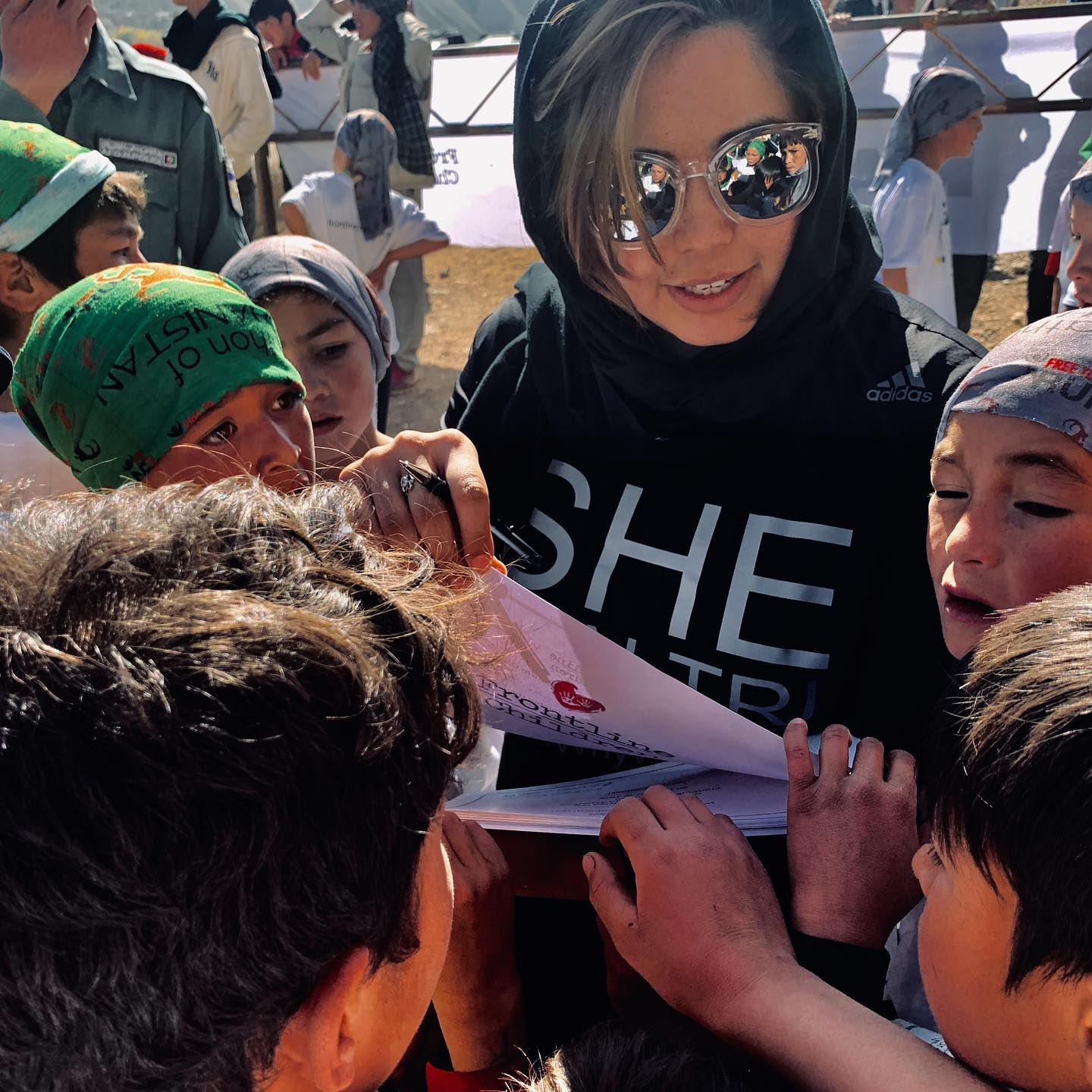 Afghan Woman's Road To The IRONMAN 70.3 World Championship