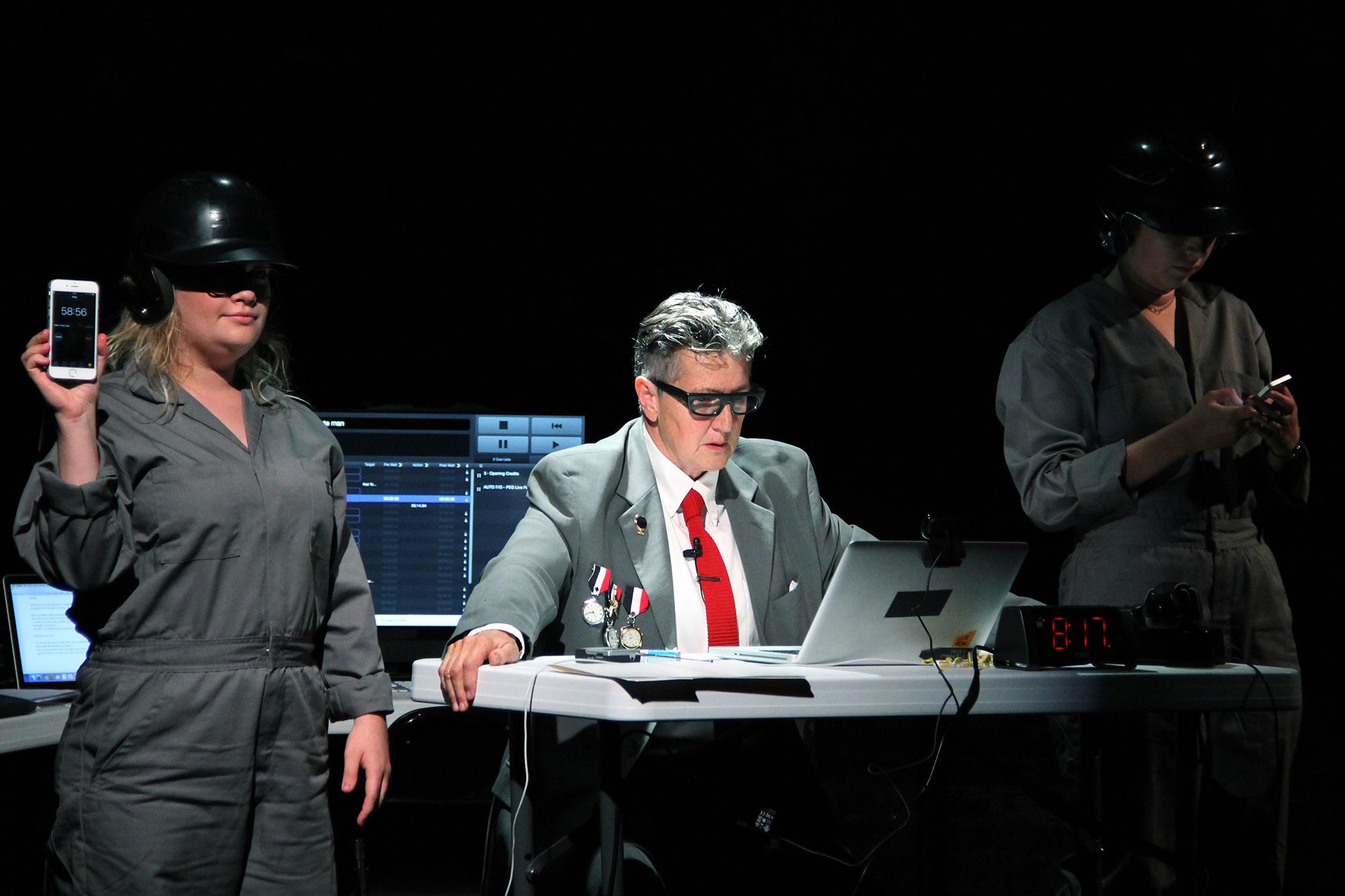 Split Britches production photo at La MaMa