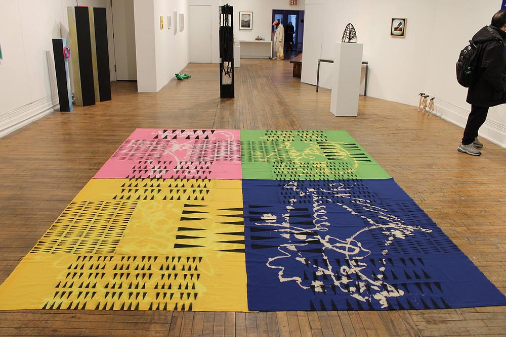 Image of art inside of La MaMa Galleria