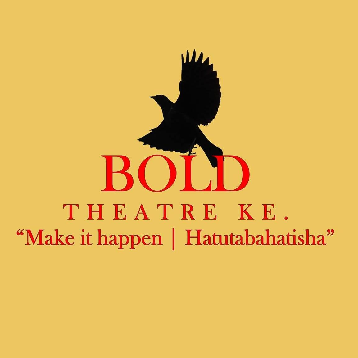 Bold Theatre KE logo in yellow