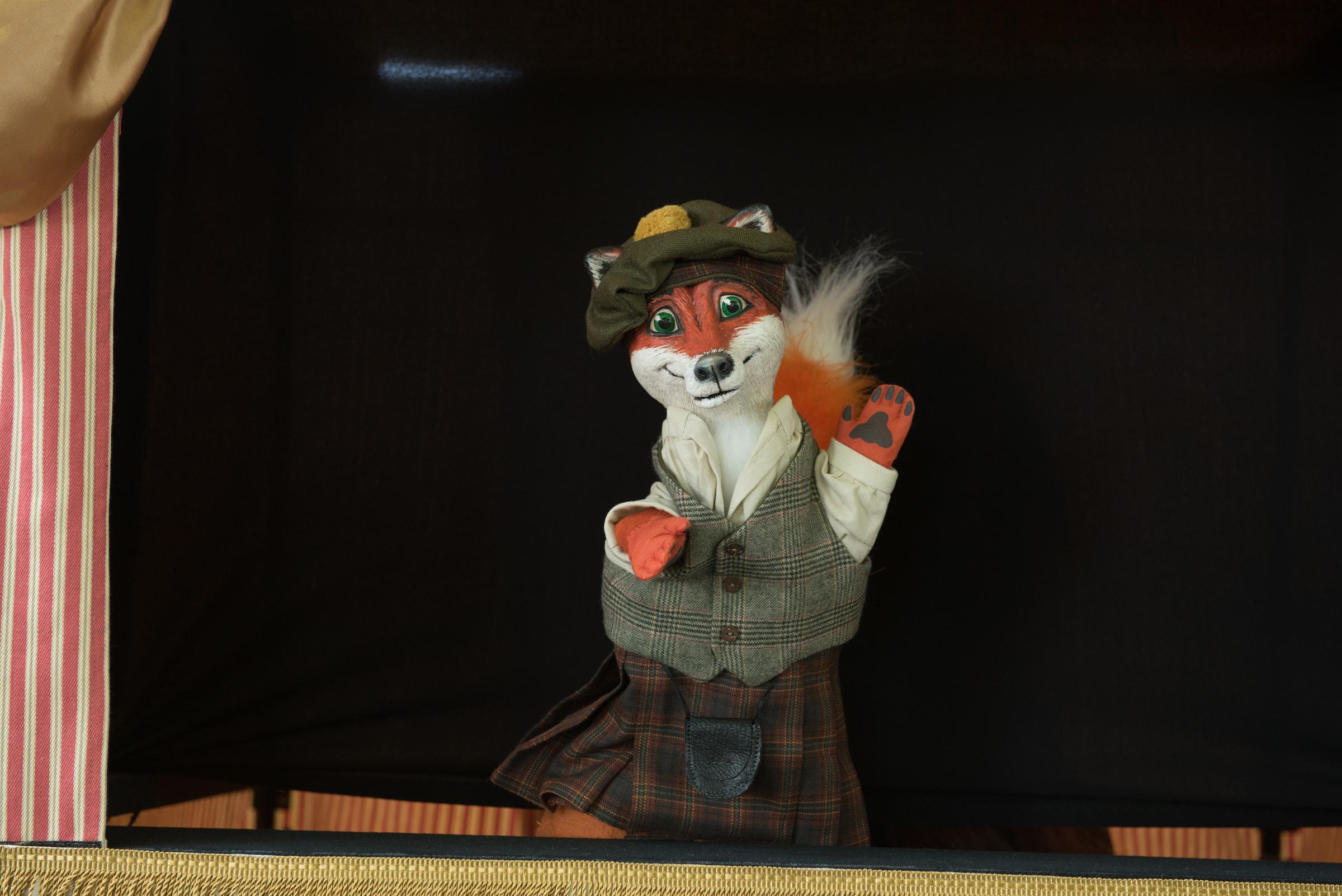 fox puppet