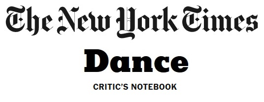 The New York Times Dance Critic's Notebook Logo