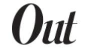 Out Magazine logo