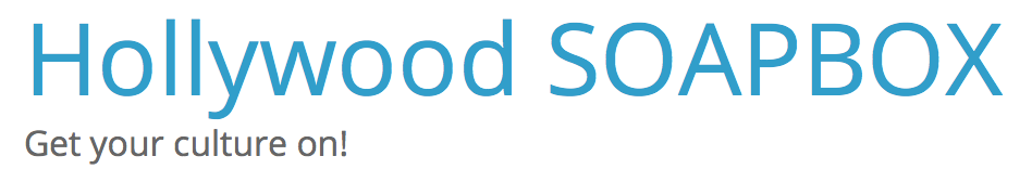 hollywood soapbox logo