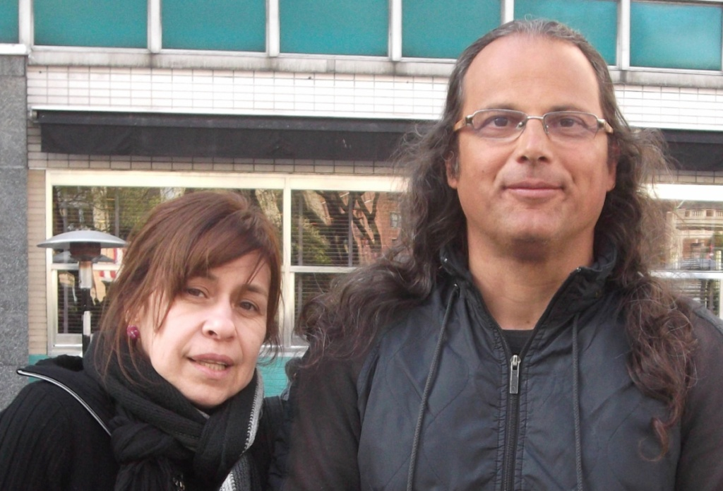 photo of two people