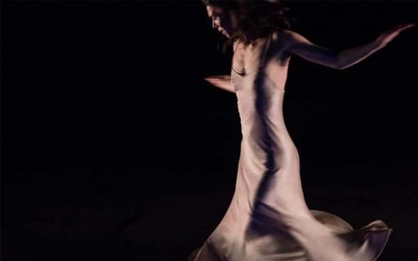dancer wearing a white dress