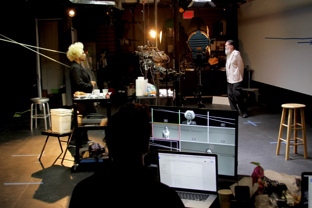 Production photo of a studio