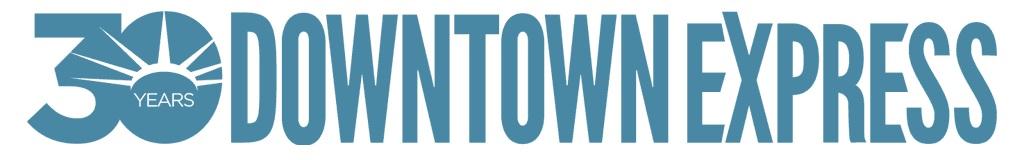 downtown express logo