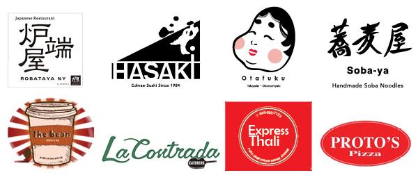 logos of local restaurants