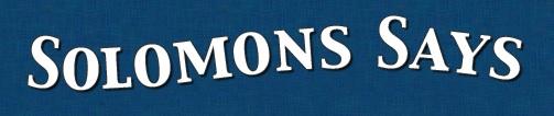 solomons says logo
