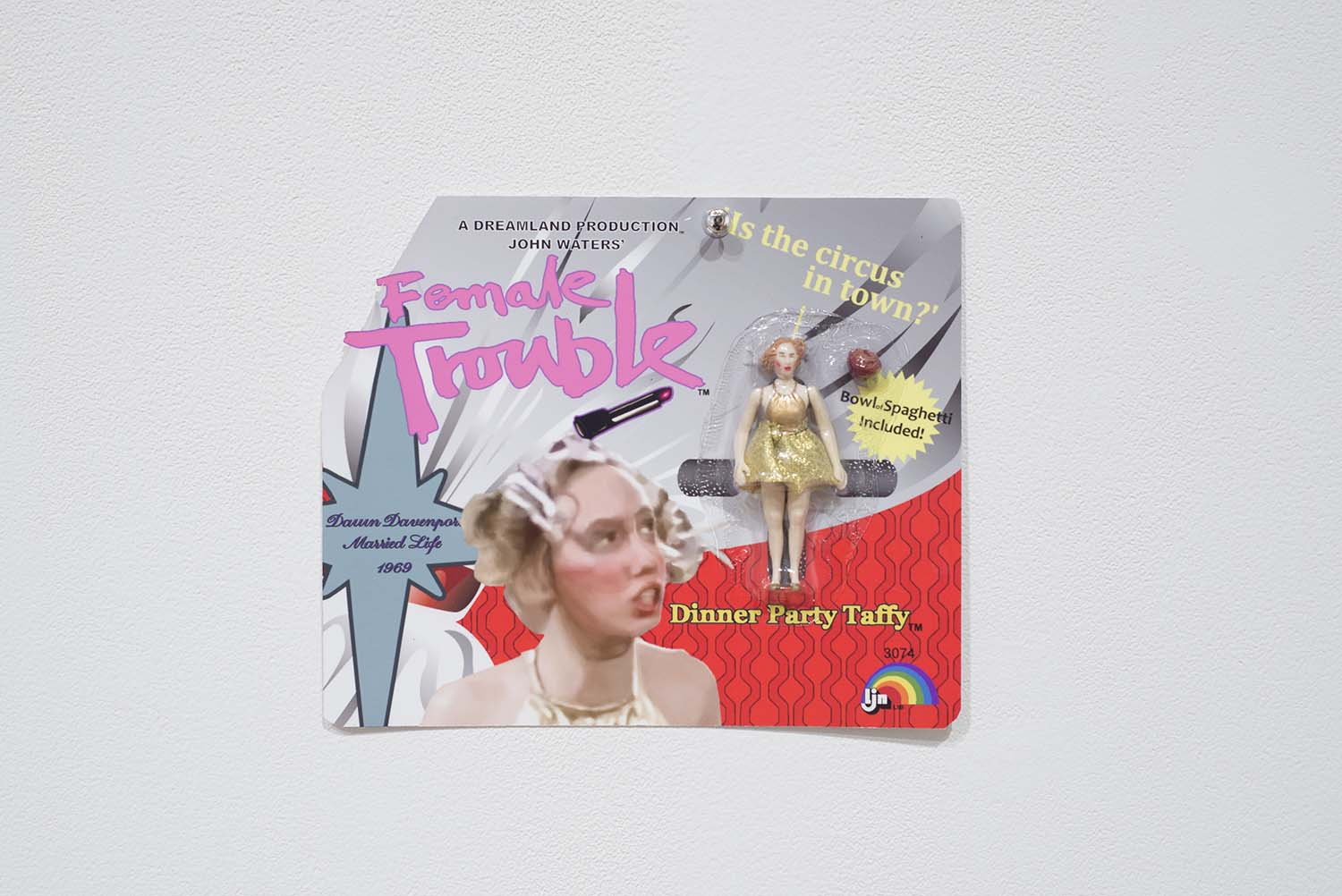 little doll in a vintage package