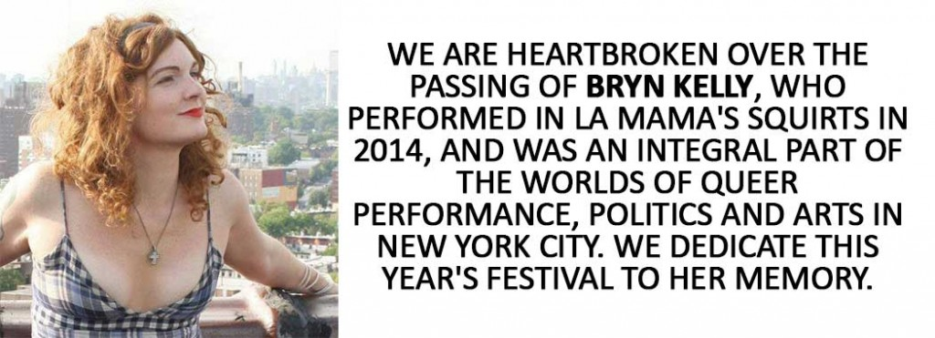 Memorial post for Bryn Kelly
