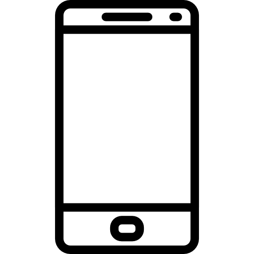 Symbol of a mobile device