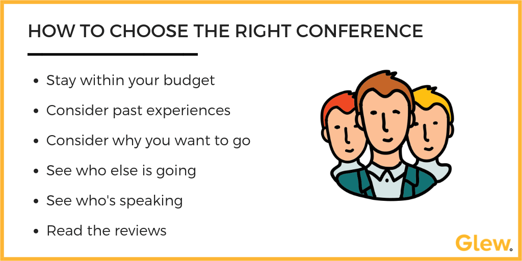 Tips for choosing the right conference