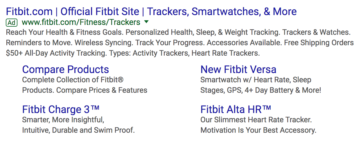 fitbit ad