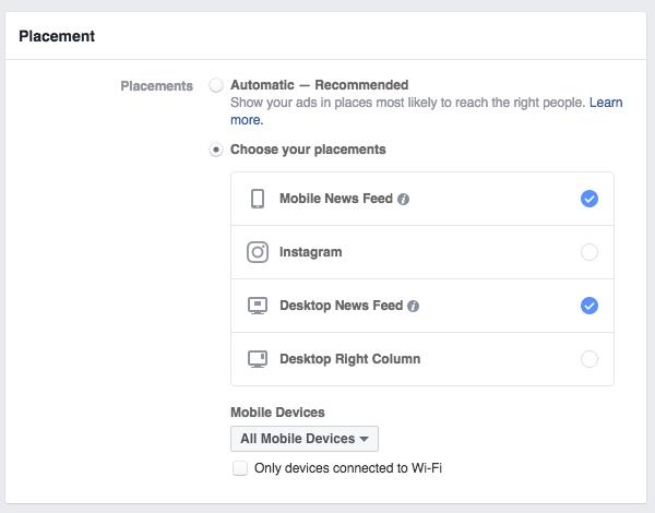 Never Combine Facebook and Instagram Ads