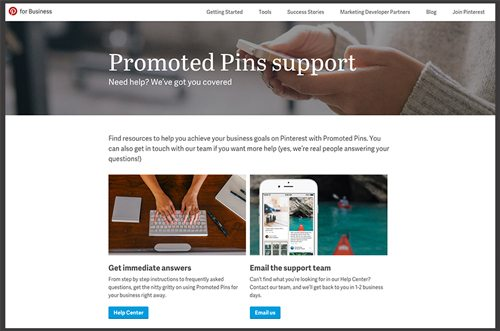 Promoted Pins on Pinterest