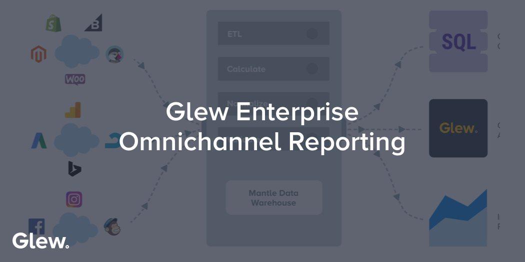 Glew Enterprise Omnichannel Reporting