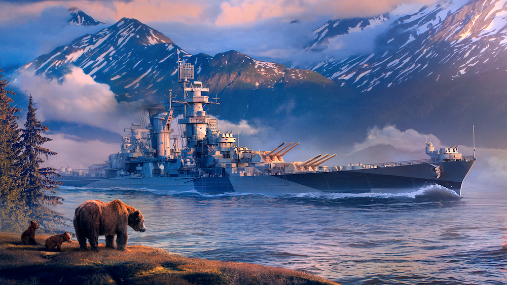 American Cruiser Alaska
