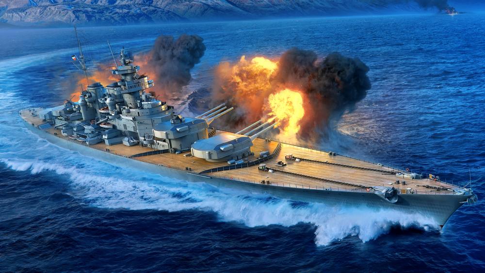 German Battleship Grosser Kurfurst