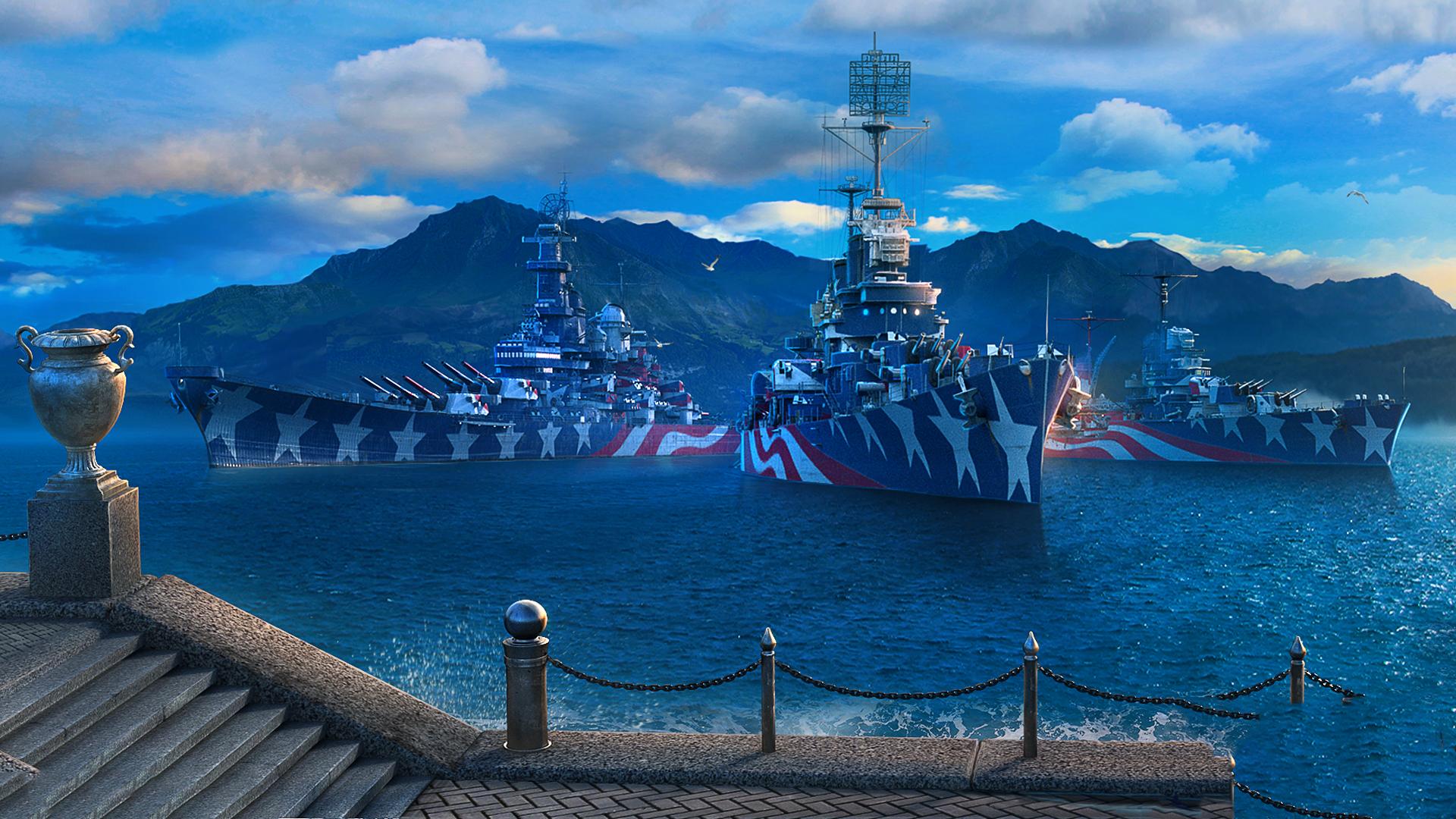 American Battleship California