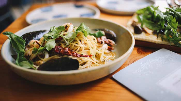 easy lunch ideas for work - pasta