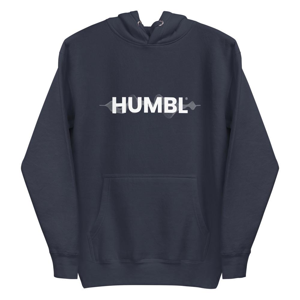HUMBL Hoodie - Navy Wave