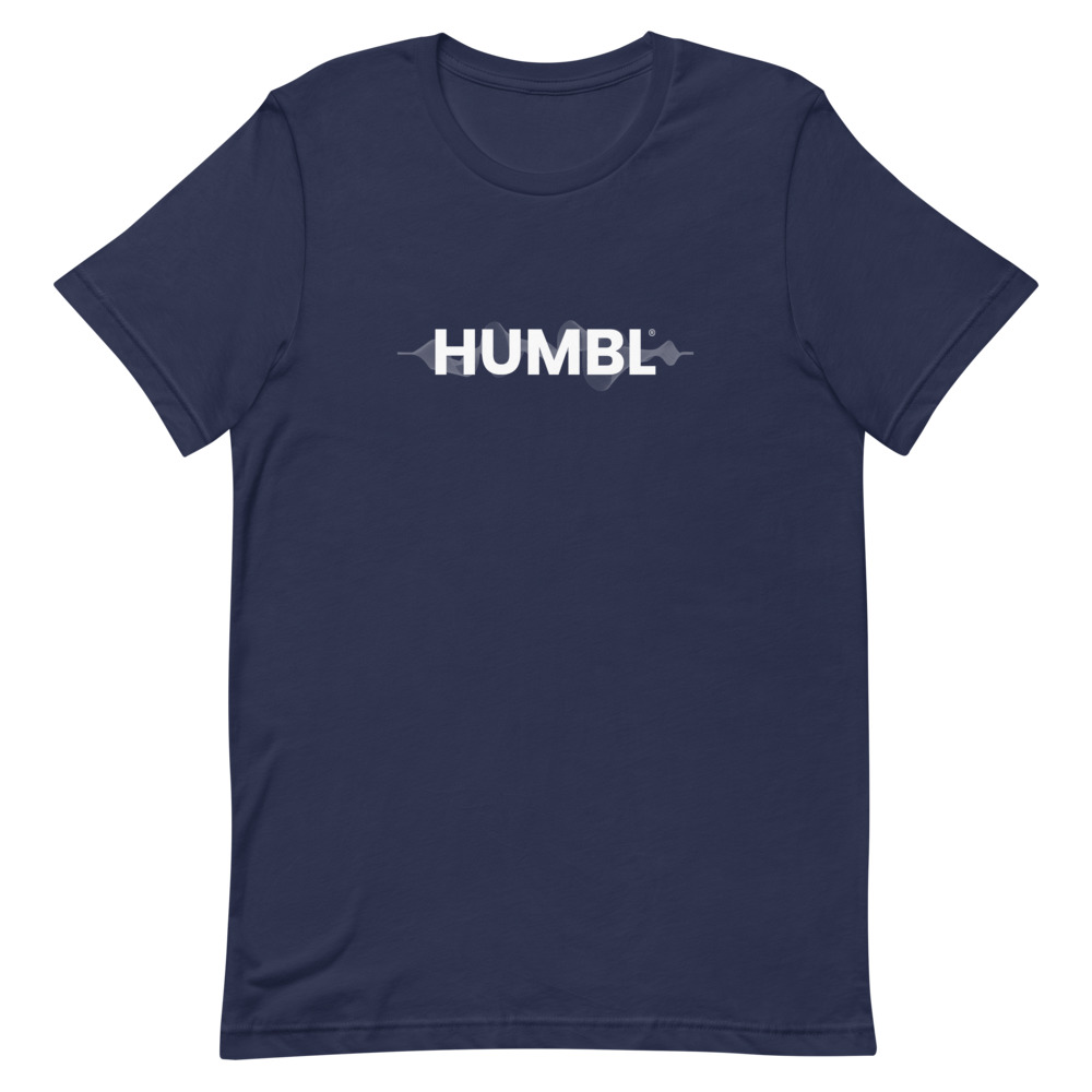 HUMBL T-Shirt - Navy Wave