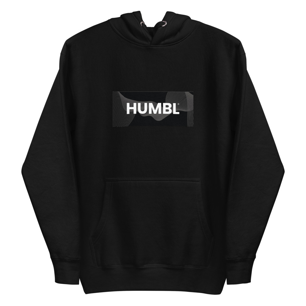 HUMBL Hoodie - Black Camo-Beach