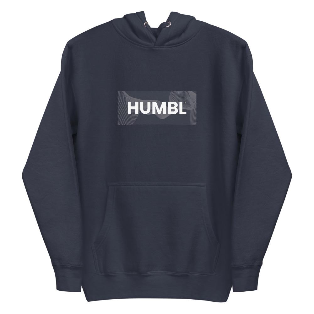 HUMBL Hoodie - Navy Camo-Beach