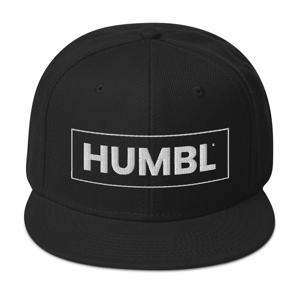 HUMBL Snapback Hat - Black