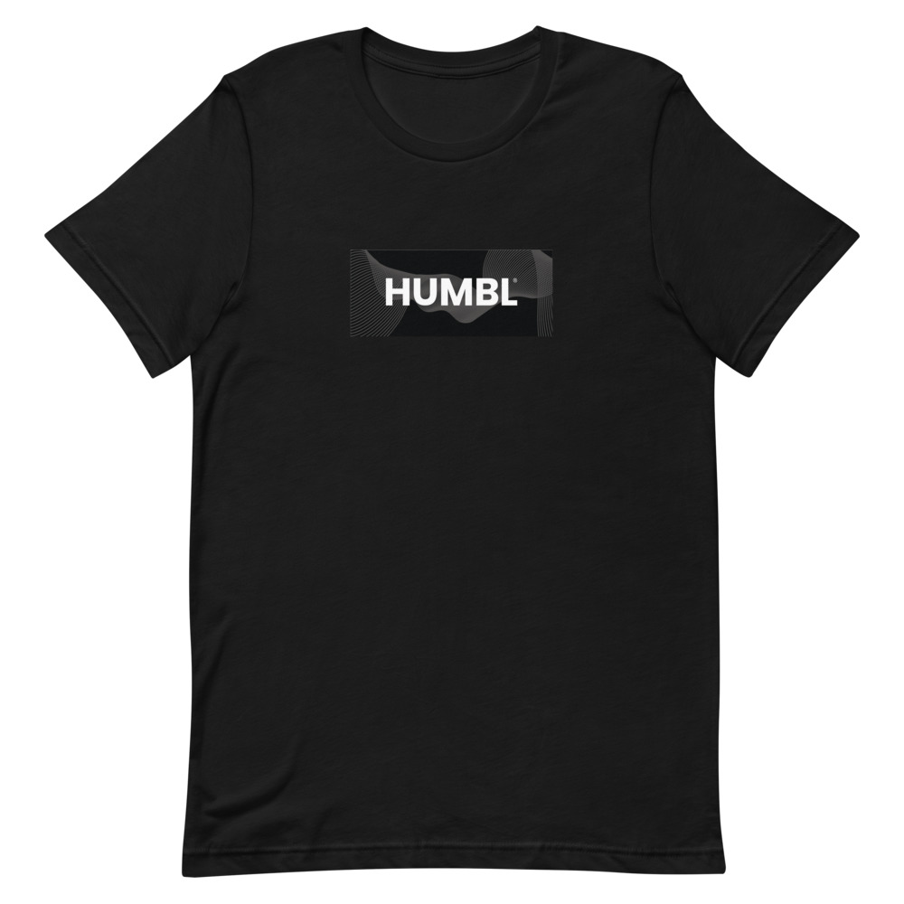 HUMBL T-Shirt - Black Camo-Beach
