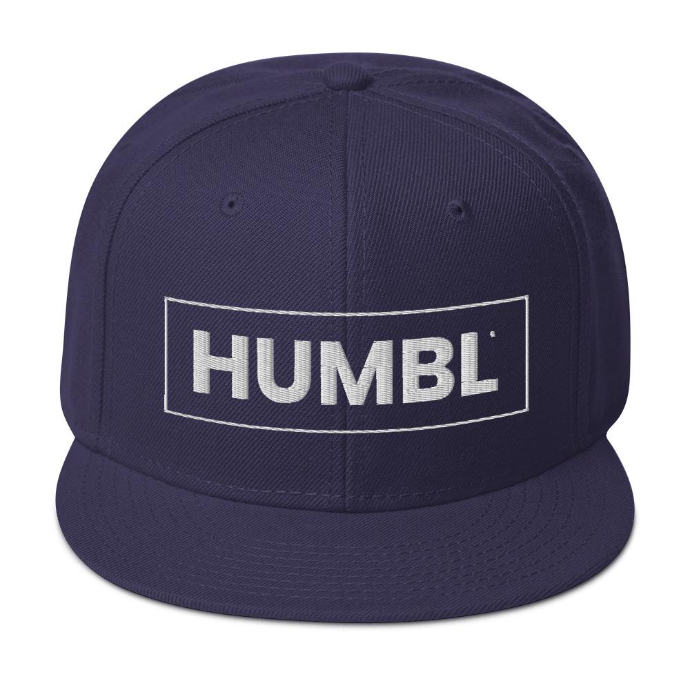 HUMBL Snapback Hat - Navy