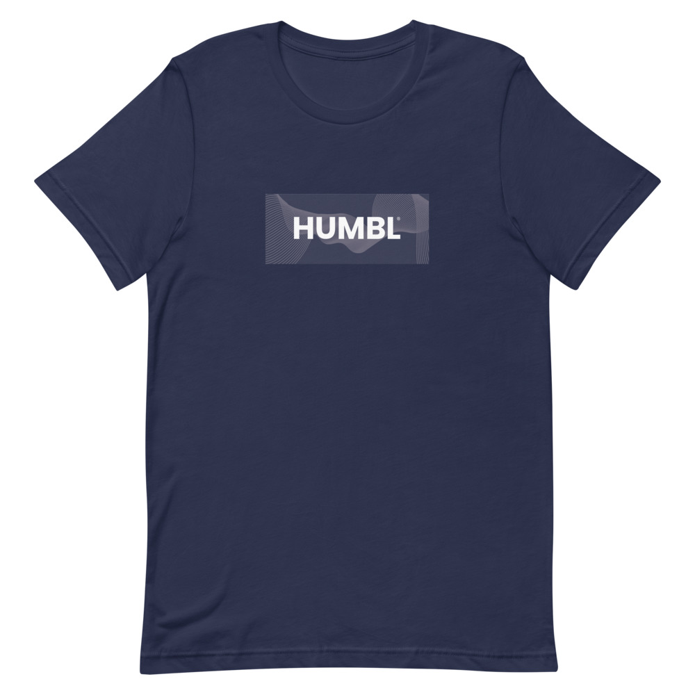 HUMBL T-Shirt - Navy Camo-Beach