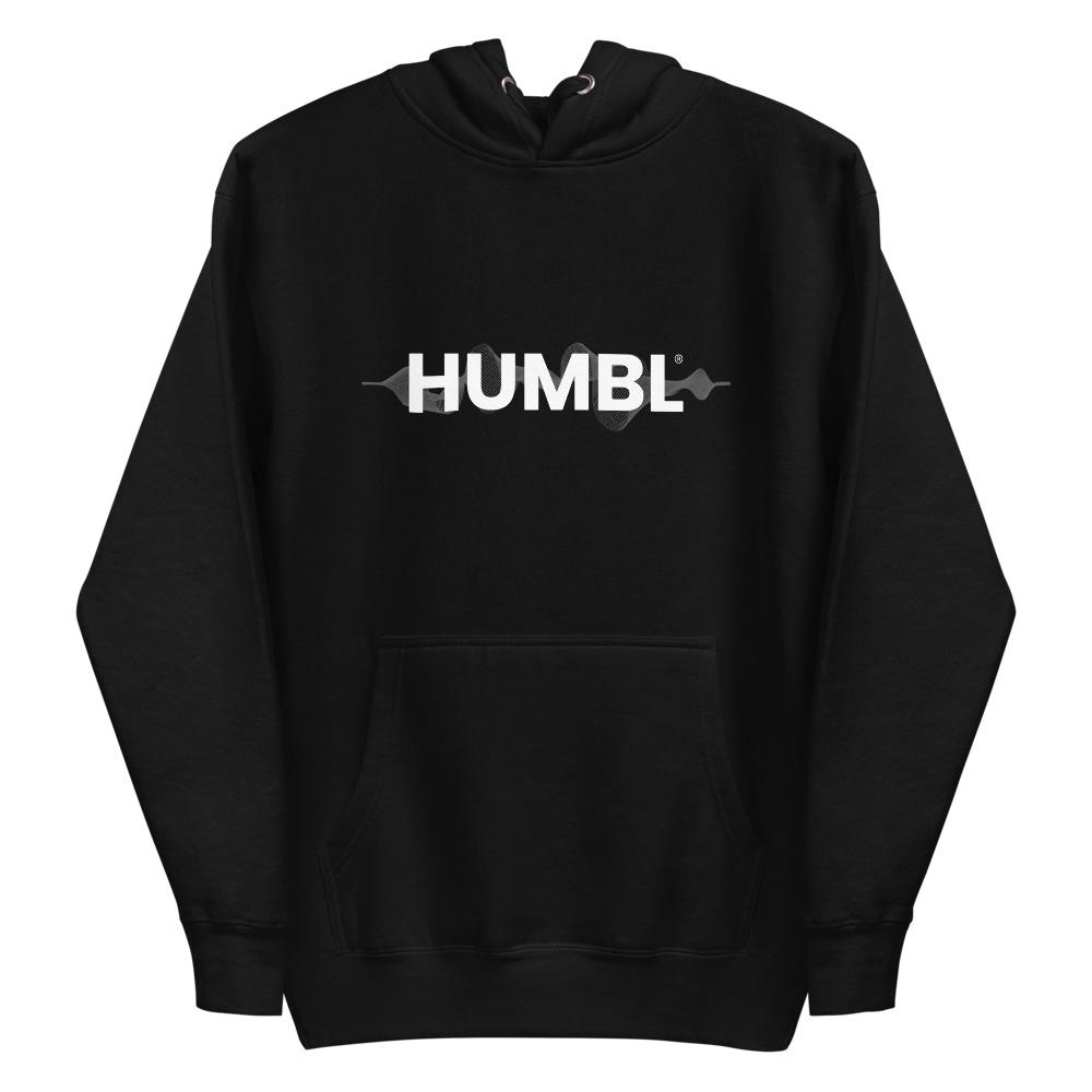 HUMBL Hoodie - Black Wave