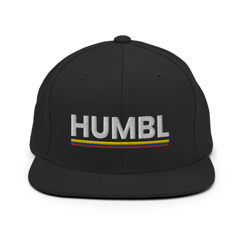 HUMBL Snapback Hat - Colombia *Limited Edition