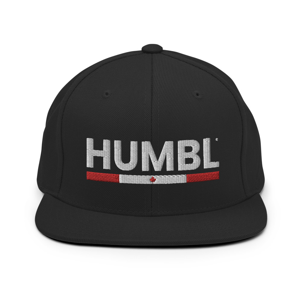 HUMBL Snapback Hat - Canada *Limited Edition