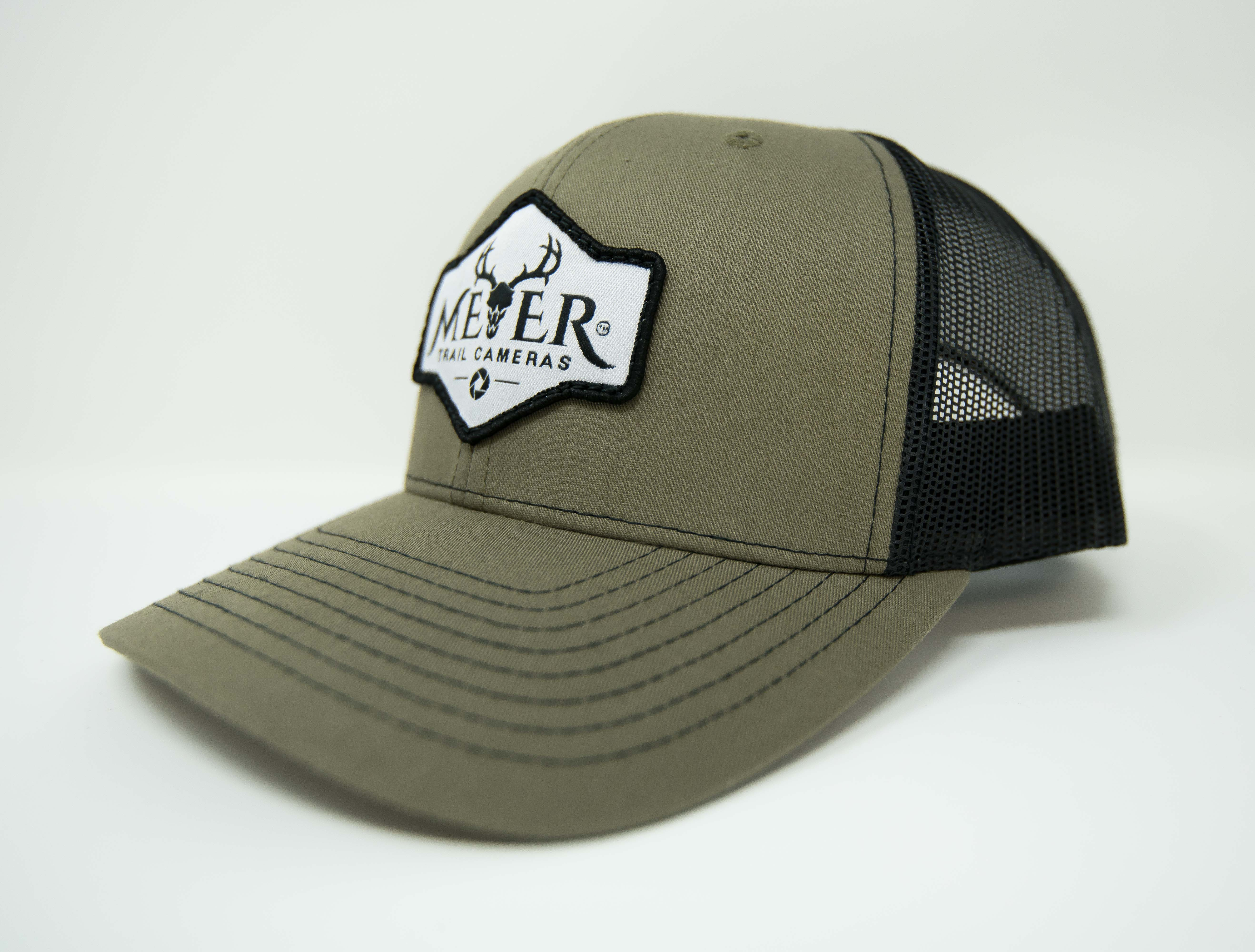 Meyer Trucker Hat Green Front